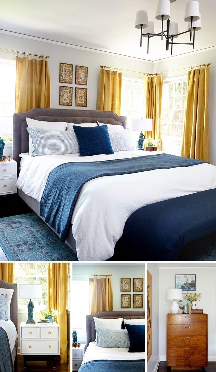 15 Bedrooms - You Choose | Blue, Gold Bedroom, Master throughout Grey And Blue Bedroom Ideas