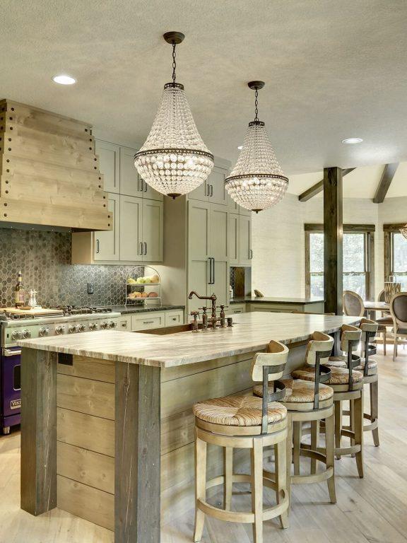Interior Design Rustic Modern Kitchen