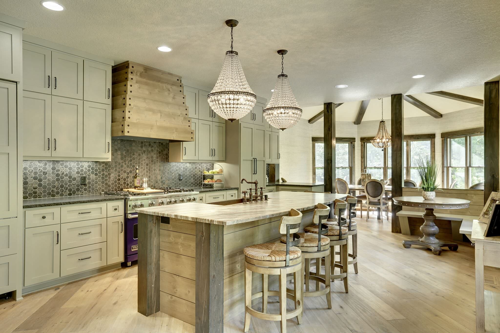 15 Inspirational Rustic Kitchen Designs You Will Adore for Interior Design Rustic Modern Kitchen
