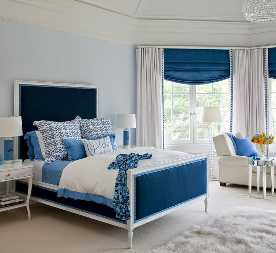 25 Stunning Blue Bedroom Ideas regarding Blue Bedroom Ideas