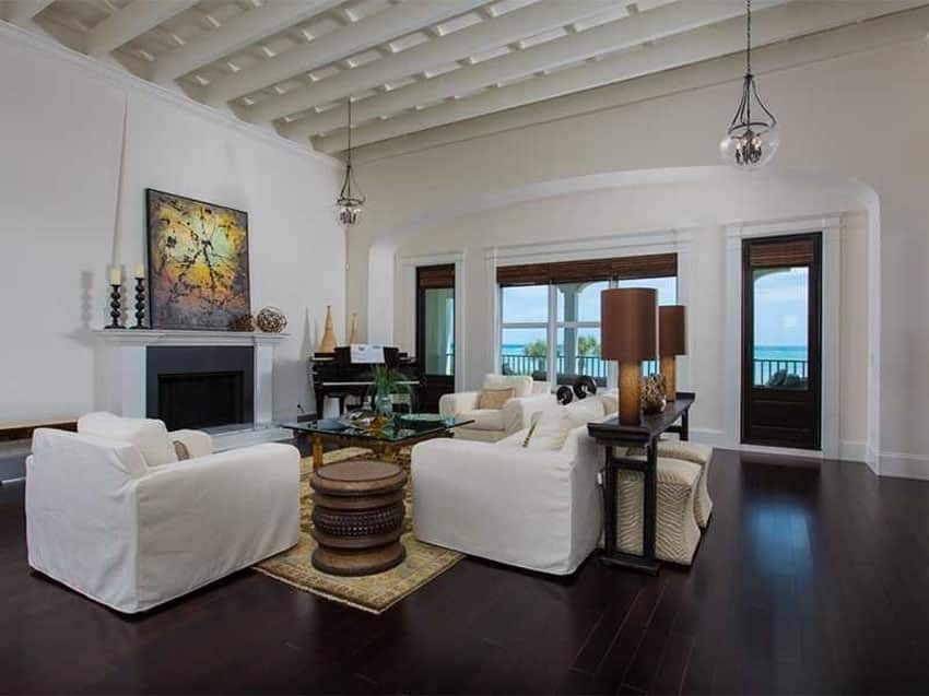 39 Beautiful Living Rooms With Hardwood Floors - Designing inside Living Room With Wood Floors