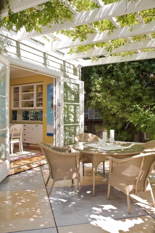 46 Inspiring Small Veranda Decorating Ideas | Diseño De with Patio Door Design Ideas