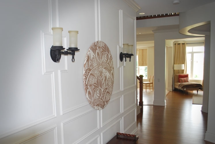 Accent Wall Crown Moulding