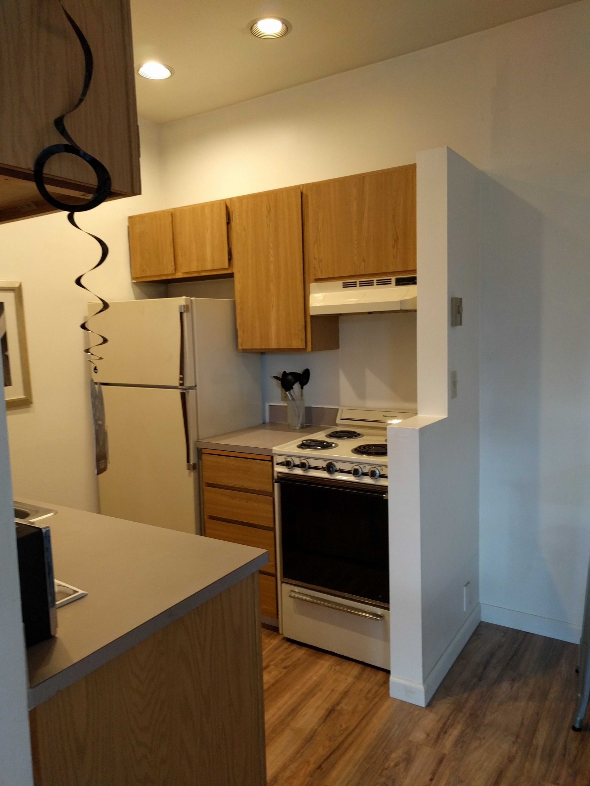 Before & After: Gut Remodel Of A Studio Apartment Kitchen intended for Kitchen Design For Studio Apartment