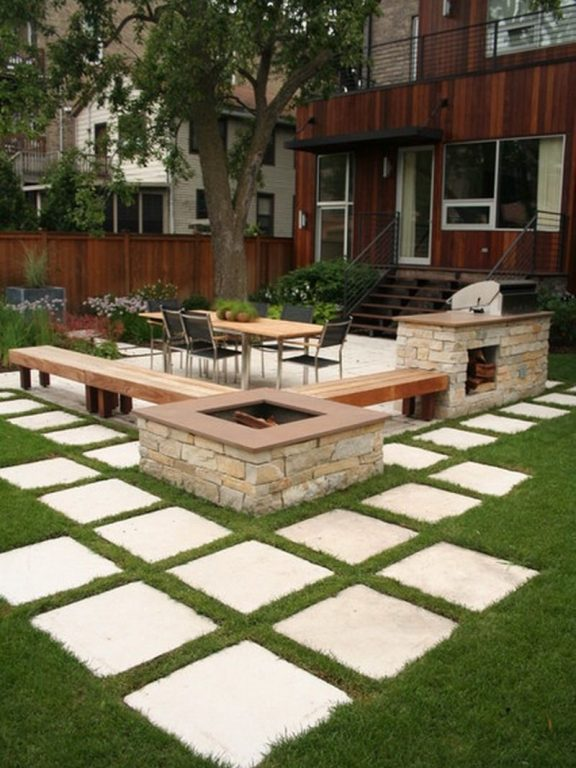 Contemporary Paver Patio Ideas