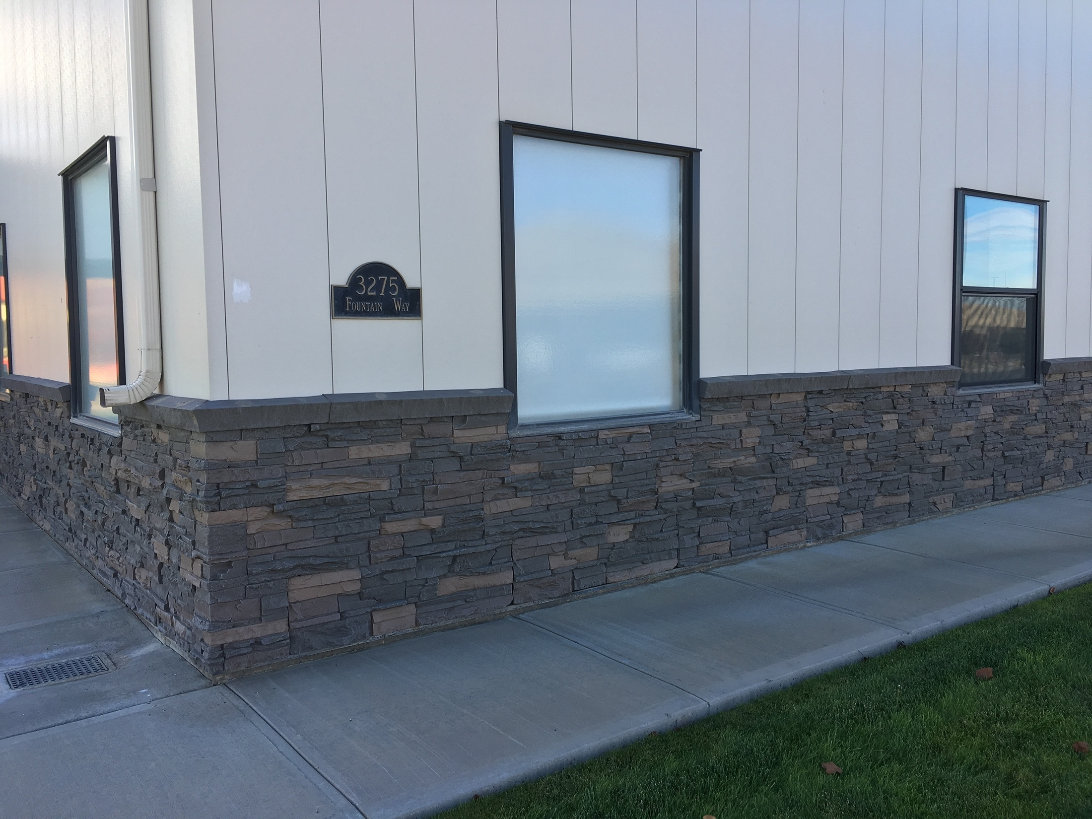 Stone Wall With Wainscoting