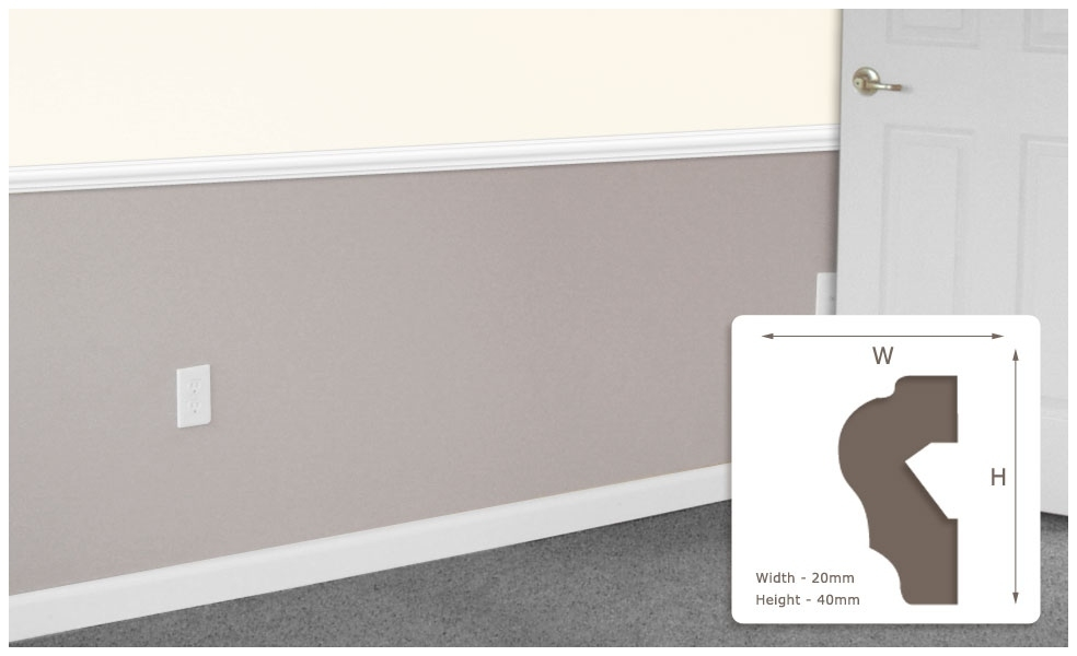 Designer Mouldings, Cornices, Skirtings And Dado Rails In regarding Wall Moulding South Africa