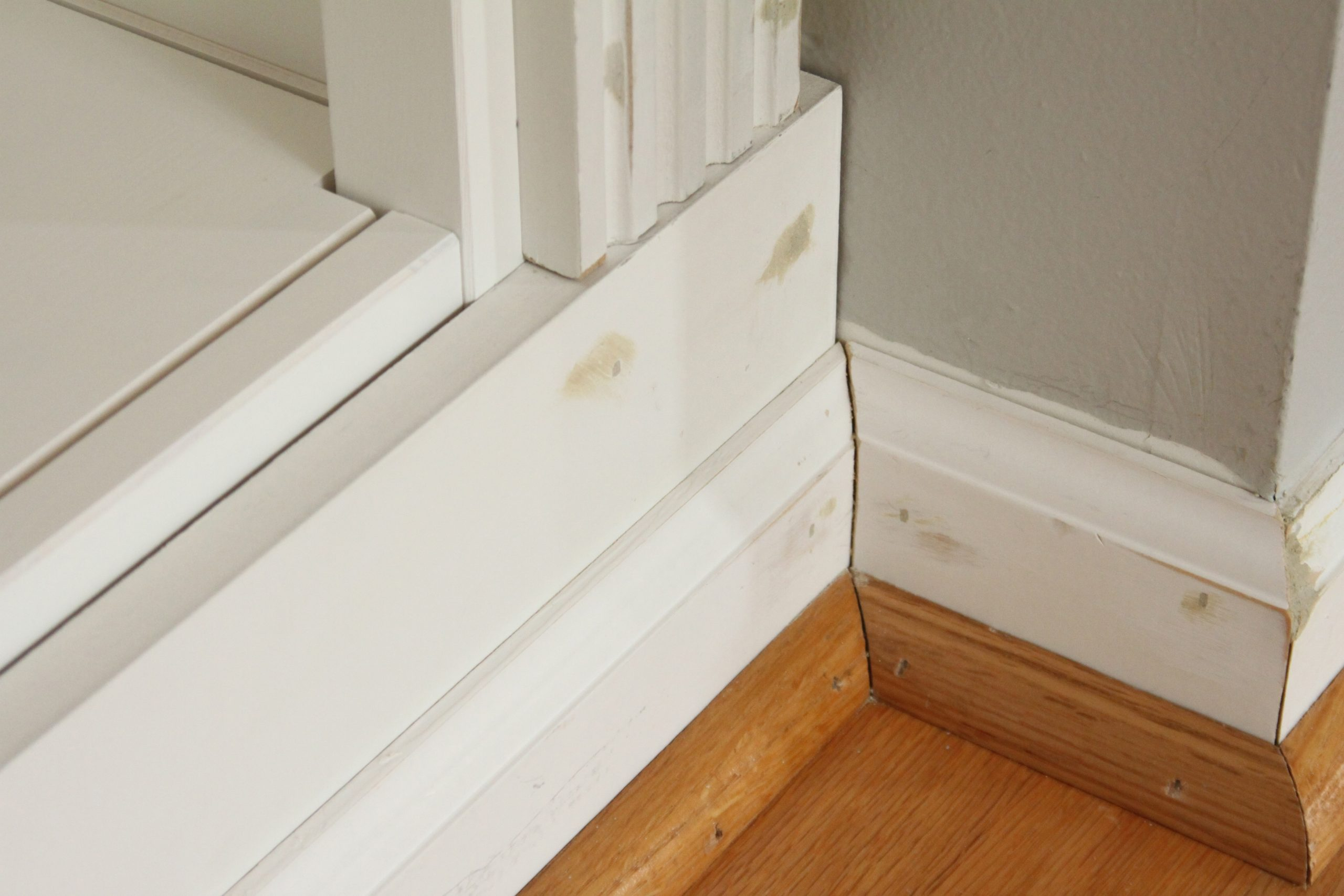 Diy Built-In Bookcase Reveal (An Ikea Hack) – Studio 36 with regard to Diy Bookshelf With Crown Molding