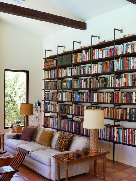 Diy Bookshelf Out Of Books