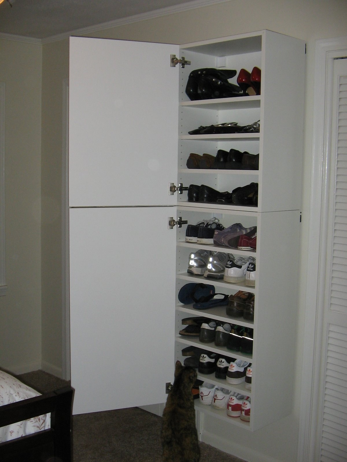 Ikea Bookshelf As Shoe Rack