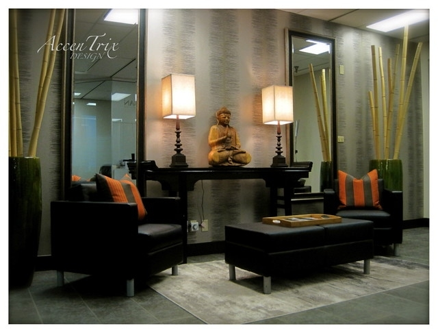 Entry Way - Asian - Living Room - Vancouver - By Accentrix for Asian Living Room