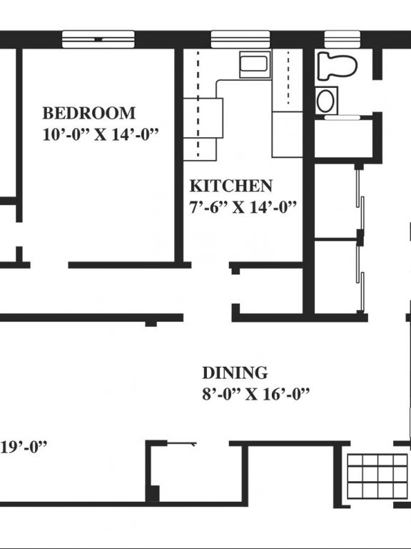 3 Bedroom Flat Floor Plan