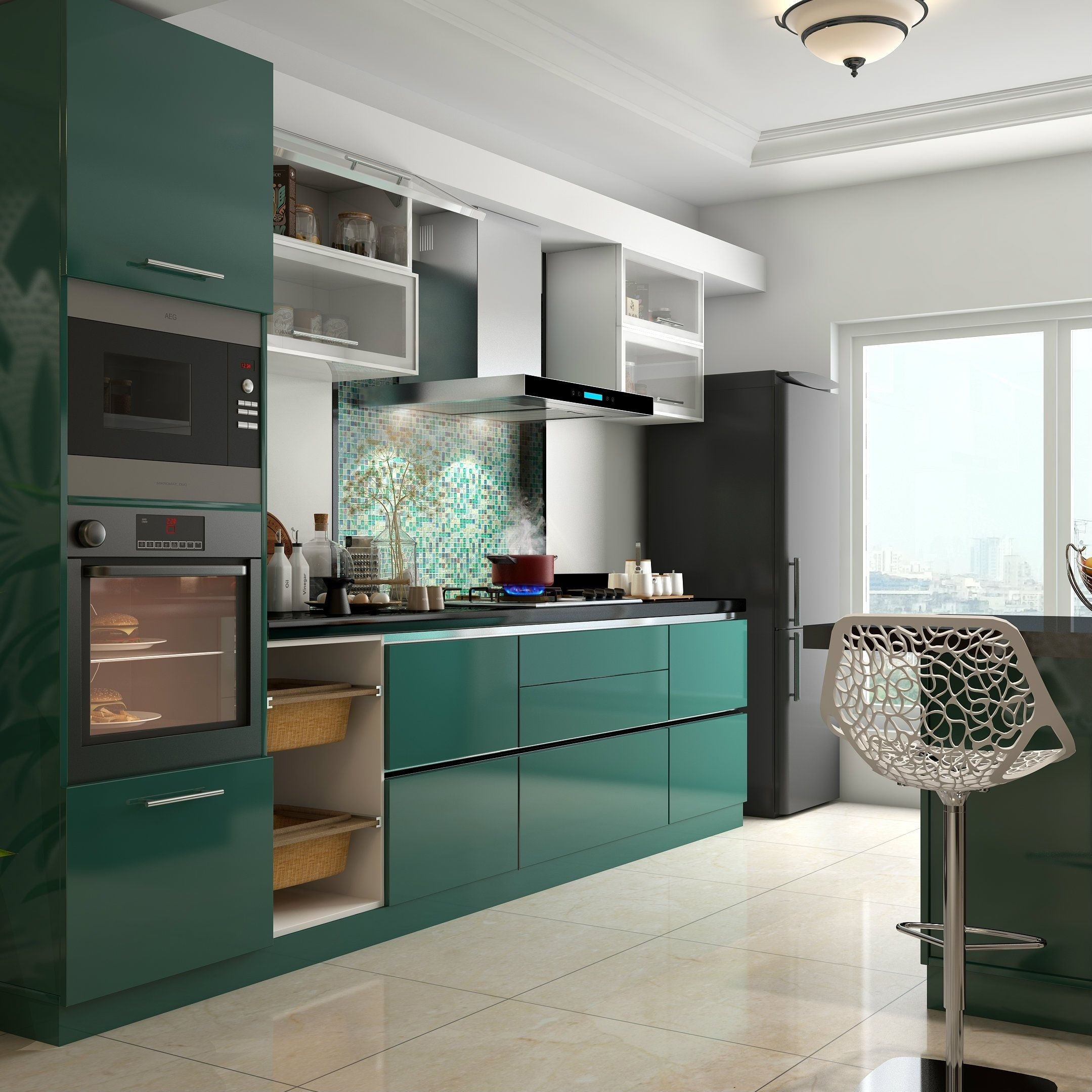 Modern Kitchen Design Of India