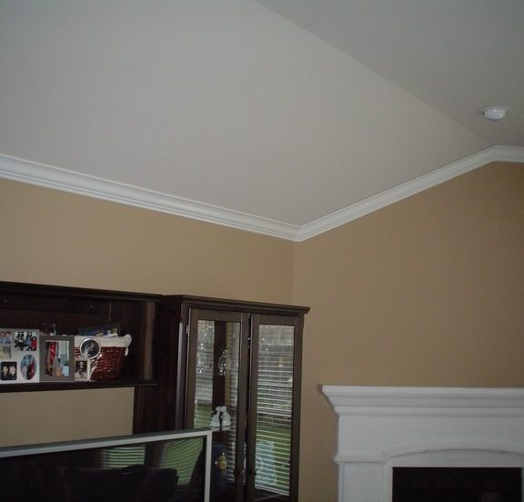 Crown Moulding Angled Wall