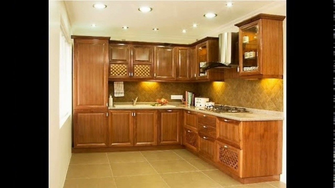 Indian Kitchen Design For Small Space - Youtube with Kitchen Interior Design Photos India