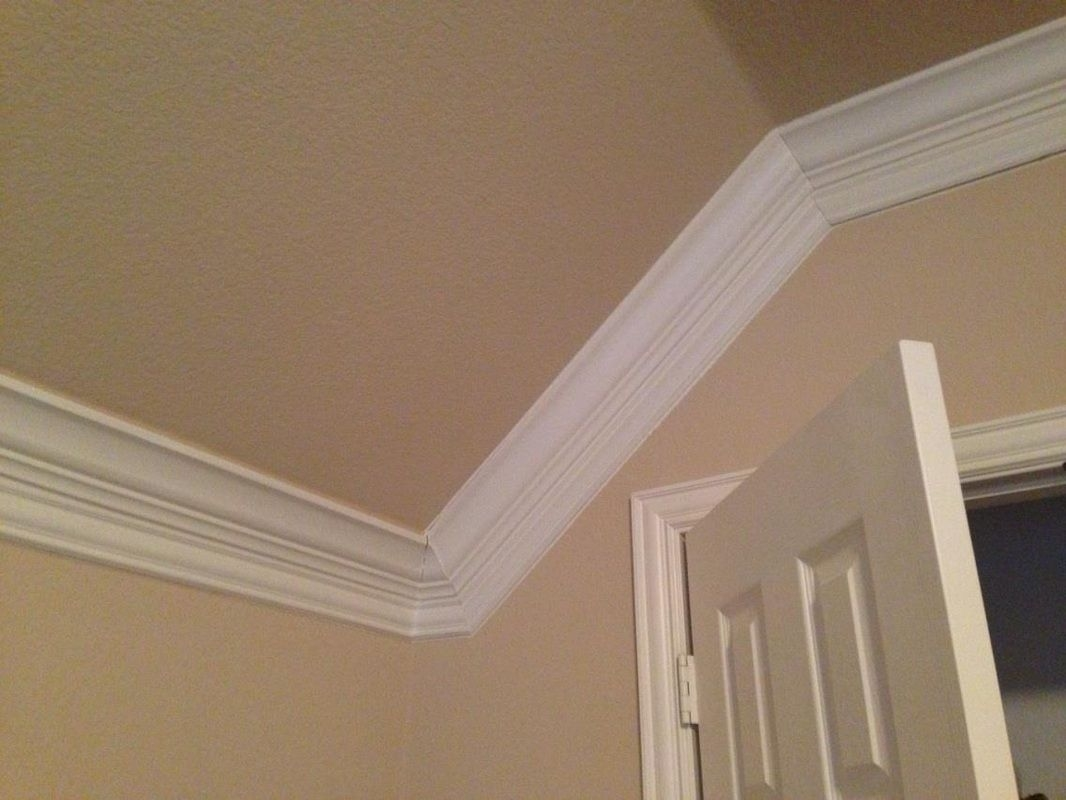 Installing Crown Molding | Crown Molding Vaulted Ceiling inside Crown Molding Angle Ceiling