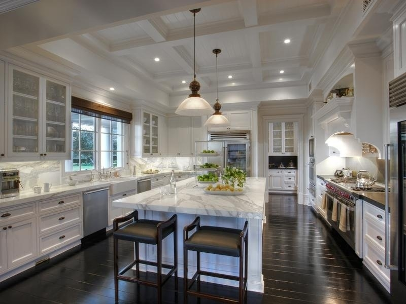 Luxespecs » The Right Ceiling Height intended for Kitchen Design Ideas With High Ceiling