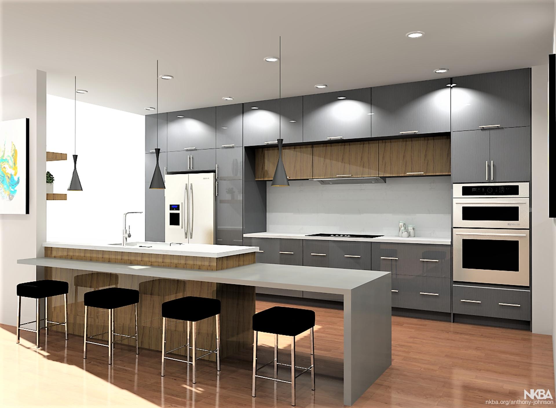 Modern Kitchen Design (Hollywood) - Nkba in Modern Kitchen Design In Nagercoil