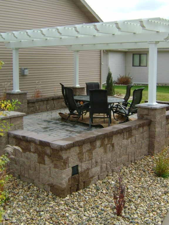 Raised Patio Ideas