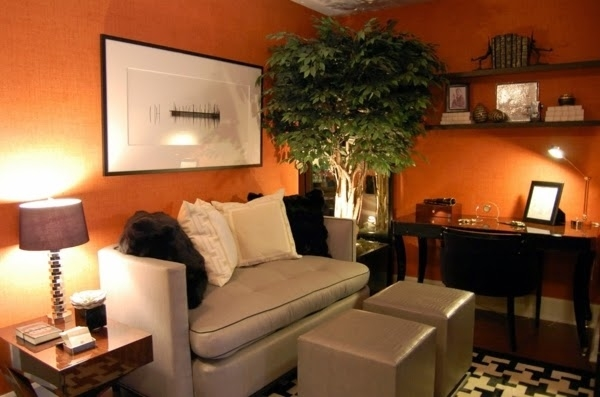 Orange And Grey Living Room Ideas - Zion Star regarding Orange Living Room Ideas