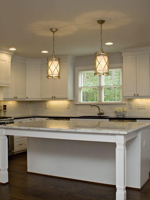 Kitchen Interior Design Red And White