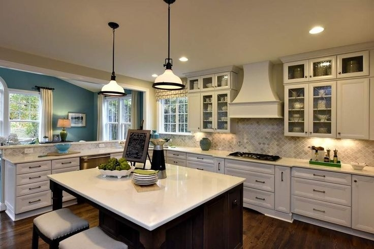 Transitional Two-Finish Kitchen Design Raleigh, Nc inside Kitchen Designers Raleigh Nc