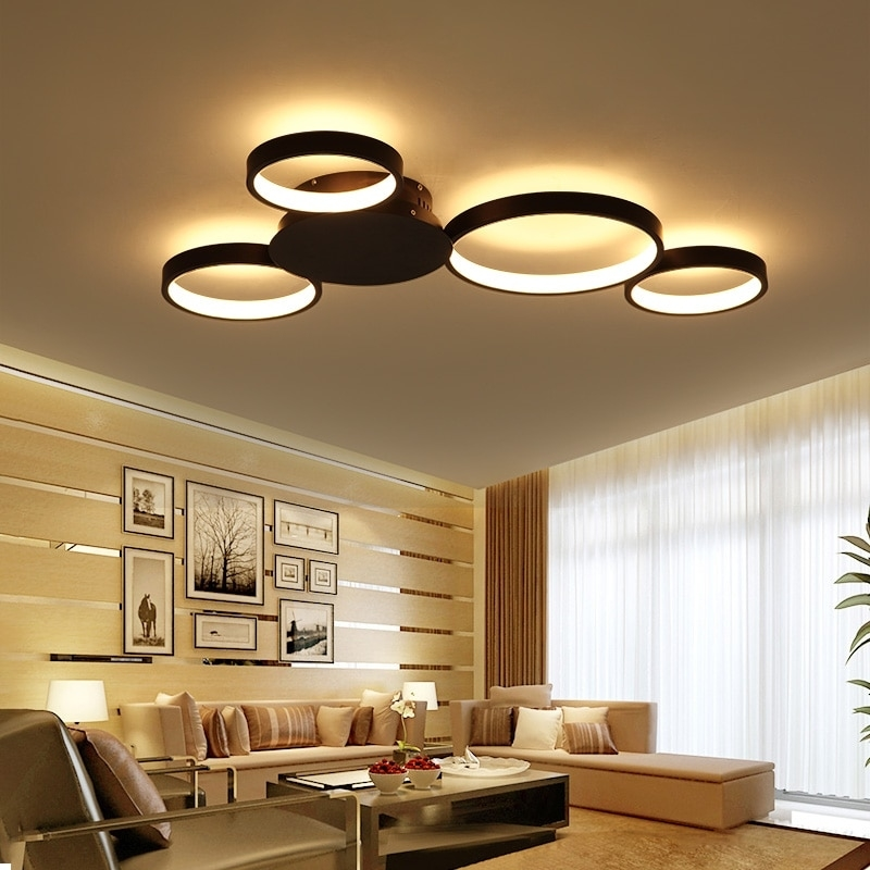 Veihao Surface Mounted Modern Led Ceiling Lights For inside Living Room Pendant