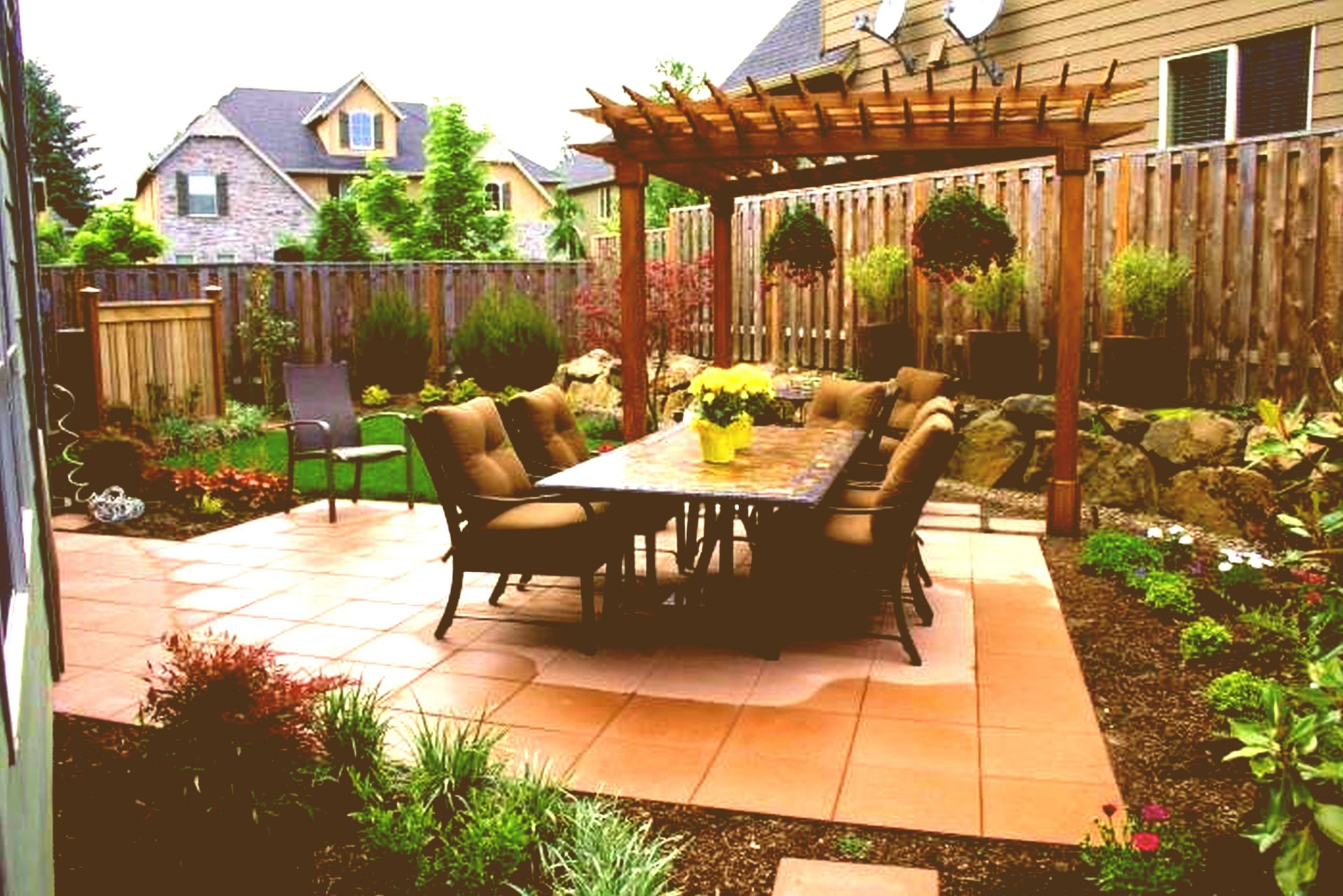 With Cute Patio Stones Crates Design Ceiling Sloped Trel with regard to Home Patio Ideas