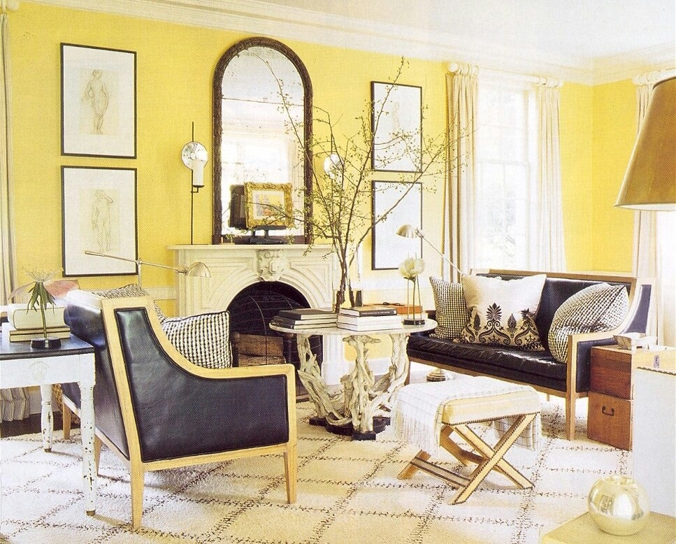 Yellowish Color Schemes For Living Room | My Decorative for Living Room Ideas Yellow And Green