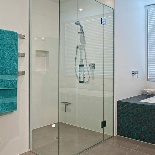 Bathroom Shower Glass Partition Price In India