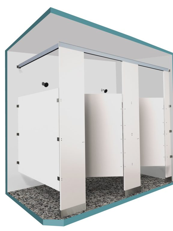 Floor Mounted Shower Partitions