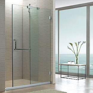 Glass Shower Door Partition