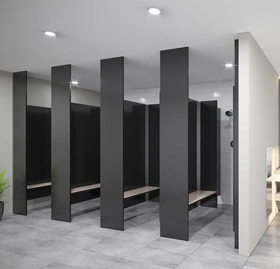 Laminex Toilet And Shower Partitions