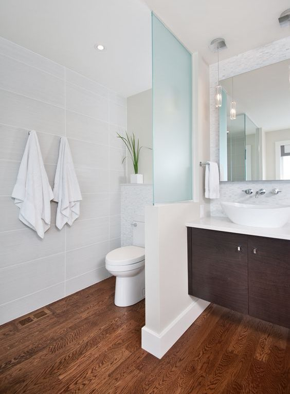 Remove Shower Partition Wall