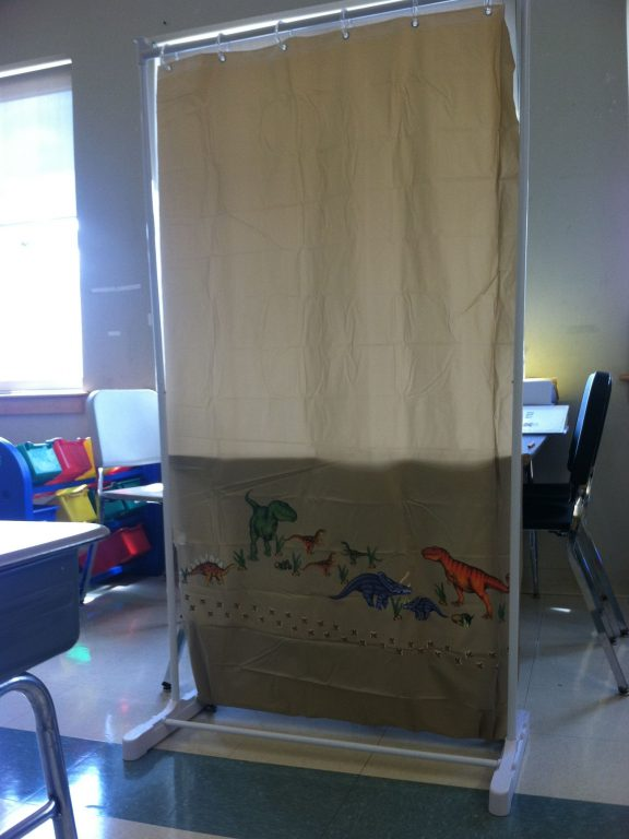 Shower Curtain Dividers Classroom