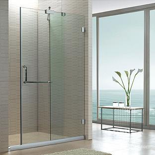 Shower Glass Door Partition
