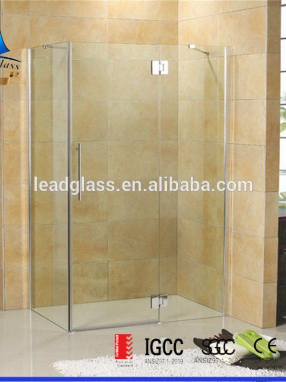Shower Glass Partition Details