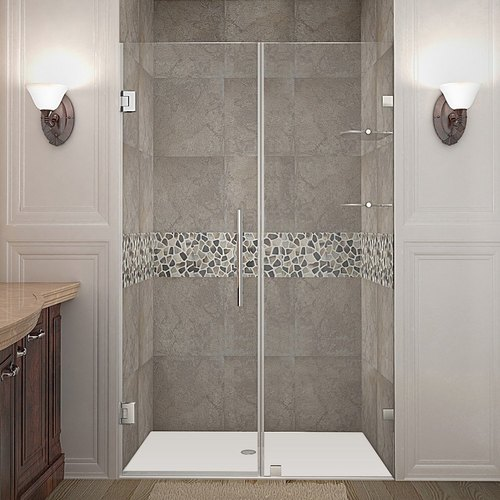Shower Glass Partition Height