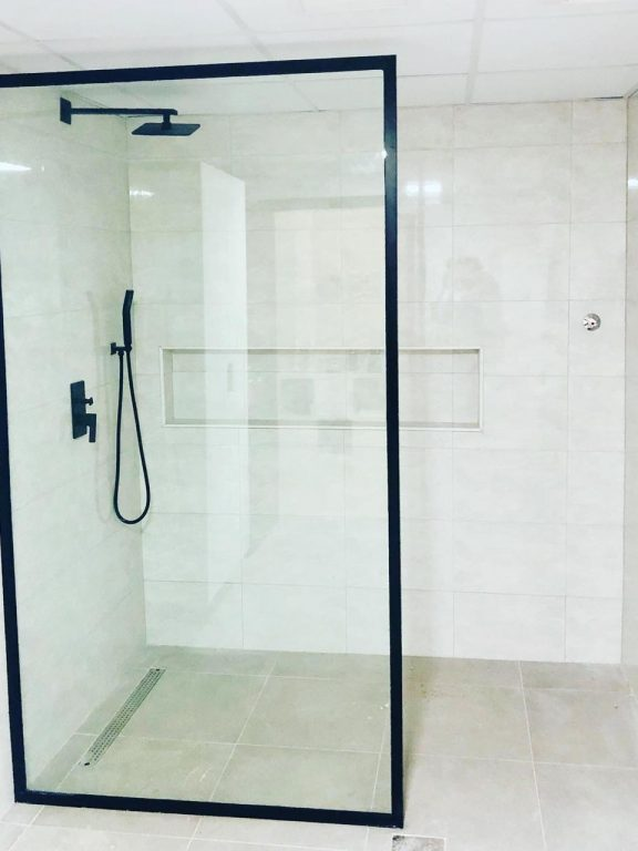 Shower Glass Partition Sharjah