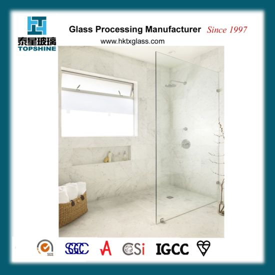 Shower Glass Partition Thickness
