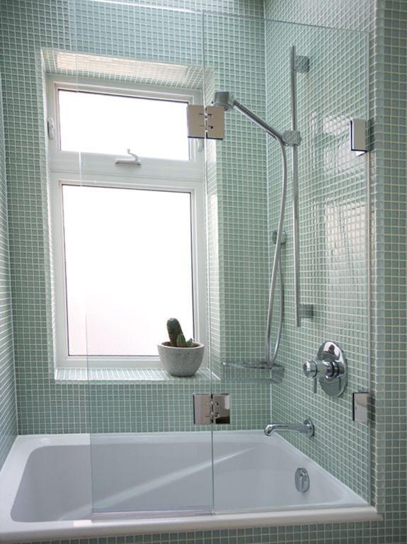 Shower Partition Over Bath