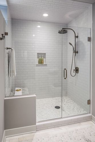 Shower Room Glass Partition