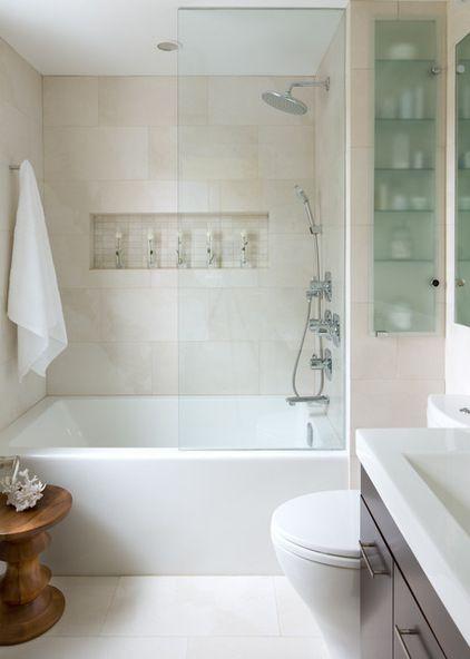 Shower Tub Glass Partition