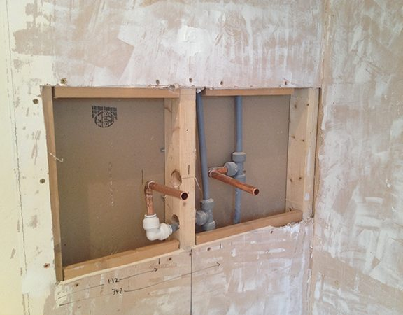Stud Partition Wall For Shower